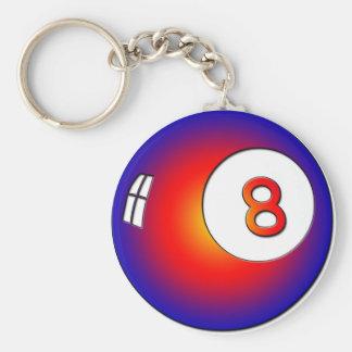 Vintage 8 Ball Keychain