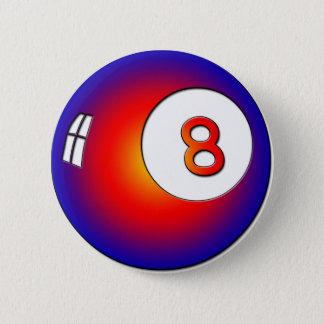Vintage 8 Ball Pinback Button
