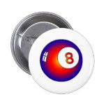Vintage 8 Ball Pins