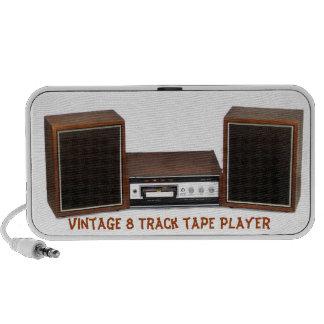 Vintage 8 track player doodle speaker