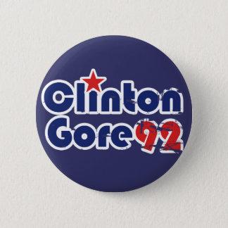 Vintage 90s Clinton Gore 1992 Button