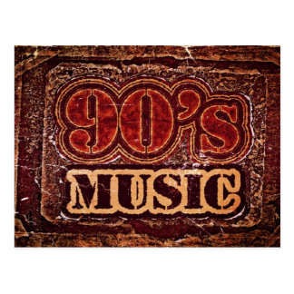 Vintage 90's Music - Postcards
