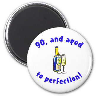 Vintage 90th Birthday Gag Gifts Magnet