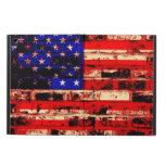 Vintage 9 de la bandera americana