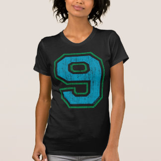 Vintage #9 (for all apparel) t shirt