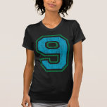 Vintage #9 (for all apparel) t shirts
