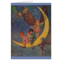 Vintage - A Moon Ride at Night,