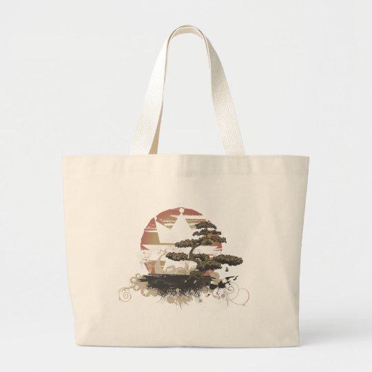 Vintage A.Okay Bonsai Large Tote Bag