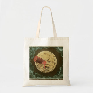 Vintage A Trip to the Moon Silent Movie Tote Bag