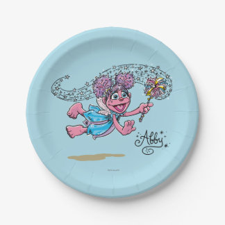 Vintage Abby Paper Plate