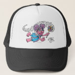 """Vintage Abby Trucker Hat<br><div class=""""desc"""">Abby Cadabby waves her wand in this retro style art graphic.        This item is recommended for ages 13 . &#169;  2014 Sesame Workshop. www.sesamestreet.org</div>"""