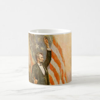 Vintage Abe Lincoln American President Independent Coffee Mug