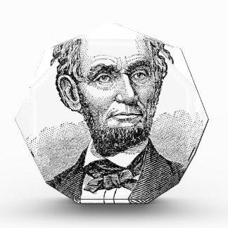Vintage Abe Lincoln Bust Award