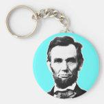 Vintage Abe Lincoln Llaveros