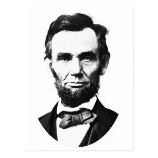 Vintage Abe Lincoln Postcard