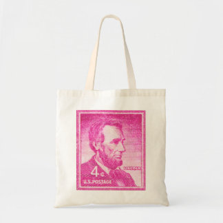 Vintage Abraham Lincoln Budget Tote Bag