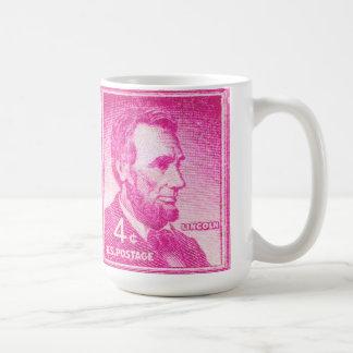 Vintage Abraham Lincoln Coffee Mug