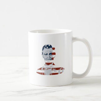 Vintage Abraham Lincoln Independence Day Coffee Mugs