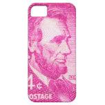 Vintage Abraham Lincoln iPhone 5 Fundas