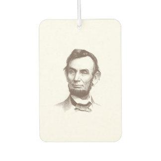 Vintage Abraham Lincoln Portrait Air Freshener