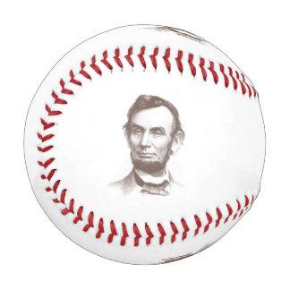 Vintage Abraham Lincoln Portrait Baseball