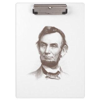 Vintage Abraham Lincoln Portrait Clipboards