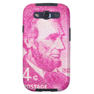 Vintage Abraham Lincoln Samsung Galaxy SIII Funda
