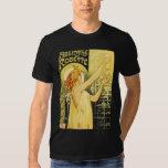 Vintage Absinthe Poster Art Tee Shirt