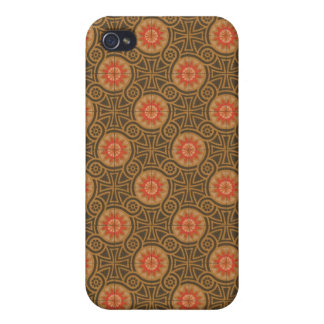 Vintage Abstract (4) iPhone 4/4S Covers