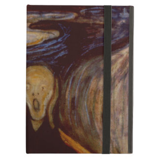 Vintage Abstract Art The Scream by Edvard Munch Cover For iPad Air