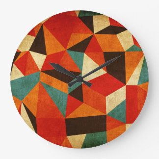 vintage abstract clock