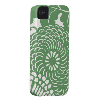 Vintage Abstract Floral Pattern Case-Mate iPhone 4 Cases