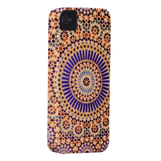 Vintage Abstract Floral Pattern iPhone 4 Cases