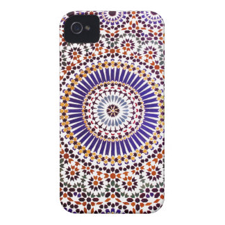 Vintage Abstract Floral Pattern iPhone 4 Case-Mate Case