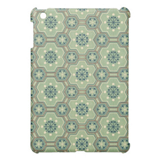 Vintage Abstract Green Gears iPad Mini Covers