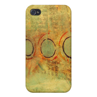 Vintage Abstract iPhone 4/4S Case