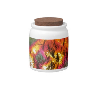 Vintage Abstract Multi-Layer Candy Jars