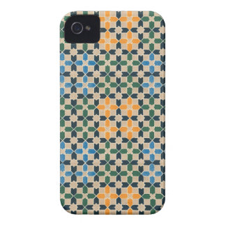Vintage Abstract Quilt Inspired Tile Fabric Case-Mate iPhone 4 Case