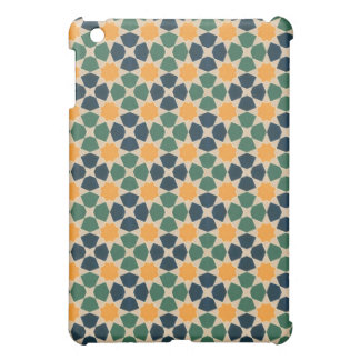 Vintage Abstract Quilt Inspired Tile Fabric Case For The iPad Mini