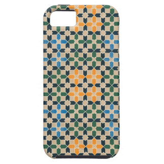 Vintage Abstract Quilt Inspired Tile Fabric iPhone SE/5/5s Case