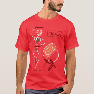 Vintage Abstract Taiko T-Shirt