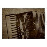 vintage accordion cards