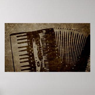 vintage accordion posters