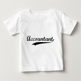 Vintage Accountant Baby T-Shirt