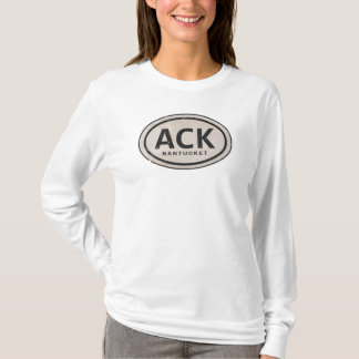Vintage ACK Nantucket MA Beach Tag Shirt
