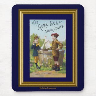 Vintage Acme Soap Ad Mousepad
