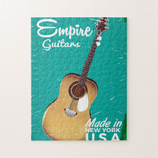 Vintage acoustic guitar commercial jigsaw puzzle