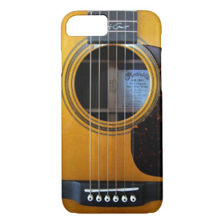 Vintage Acoustic Guitar iPhone 8/7 Case