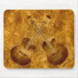 Vintage Acoustic Guitars Mousepad