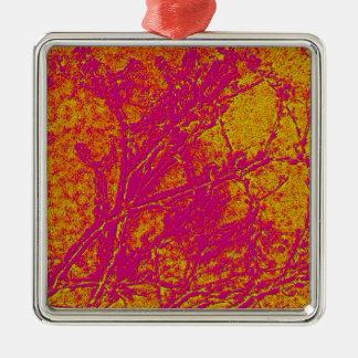 Vintage Acrylic Colormania Energy Plate Christmas Ornament
